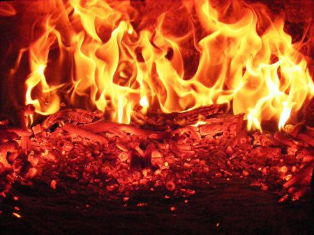 fire, burning