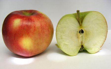an apple and a half
