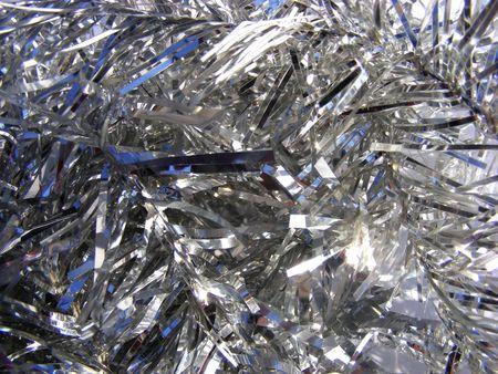 anstract shiny silver background Stock Photo - 6080263