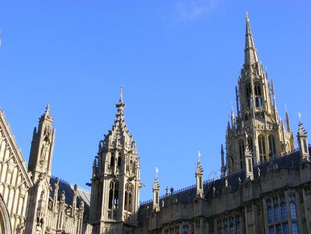 detail of House of Parlament, London