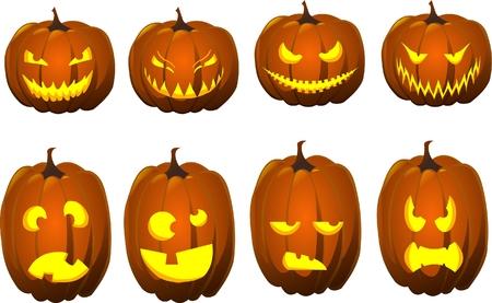 carve: jack o l�mparas de Halloween