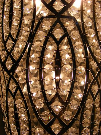 detail of a chandelier Stock Photo