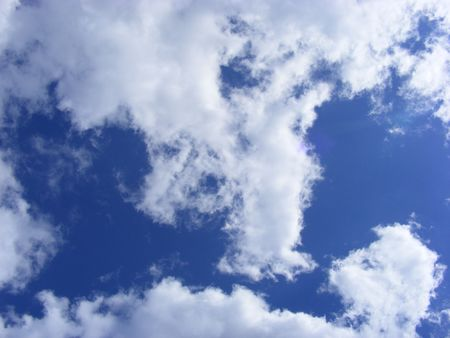 blue sky whit clouds