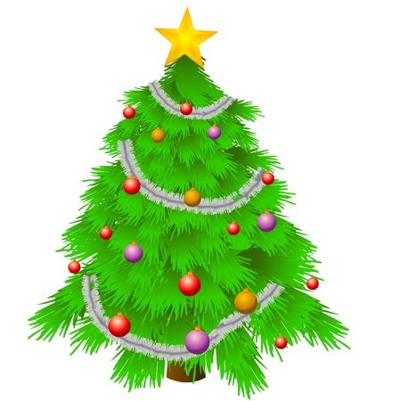 christmas tree Stock Vector - 8381136