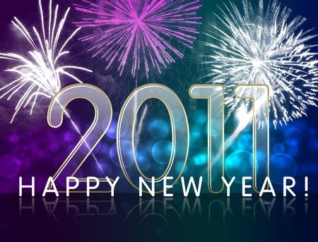 New year greeting Stock Photo - 8511983