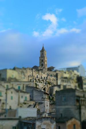 Italian town, Matera