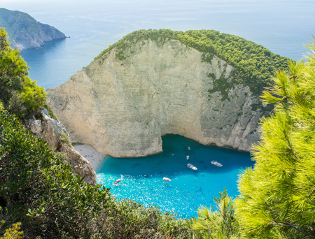 paradise bay: Navagio beach