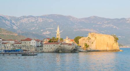 Old city of Budva, Montenegro Stock Photo