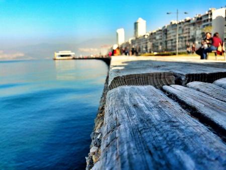 View of Izmir alsancak
