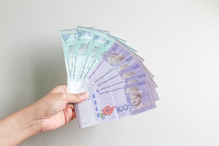Malaysia Currency (MYR) on hand