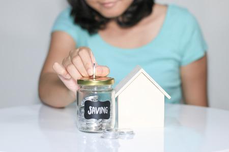saving to build home. Investment. Saving
