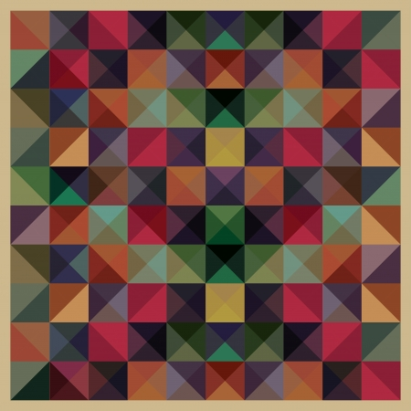 COlorful Mosaic Pattern Illustration