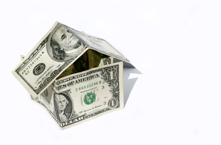 Dollar house Stock Photo - 1229359