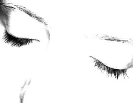 Closed eyes vector Stock Vector - 2415134