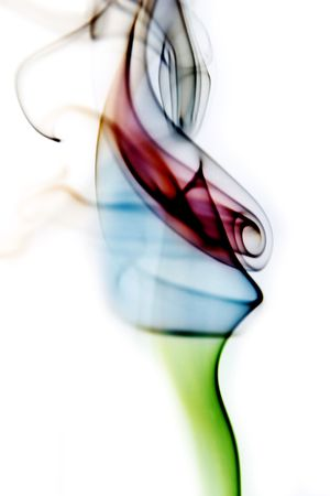 Abstract smoke background photo