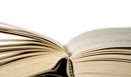 abstract academic: Old open book