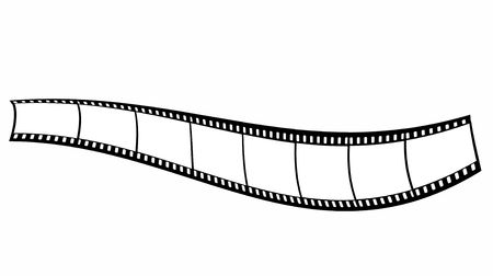 Blank film strip Stock Photo - 5278039