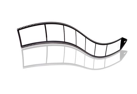 Blank film strip Stock Photo - 5277955