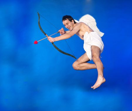 Flying Cupid photo