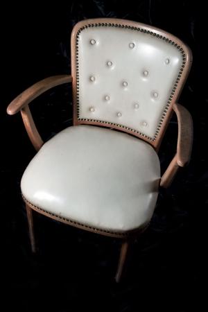 Old retro armchair photo
