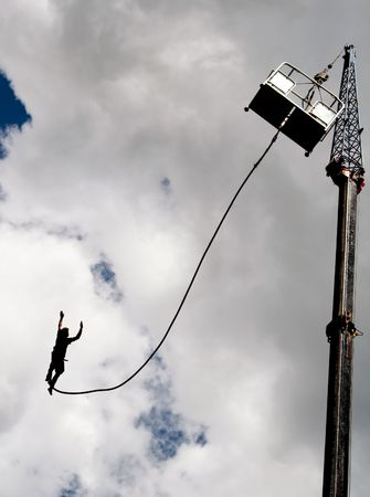 Bungee jumping  photo