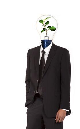 Símbolo de la energía verde