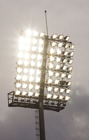 Stadium lights Stock Photo - 6963679