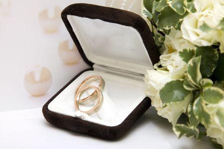 Wedding rings Stock Photo - 7802929