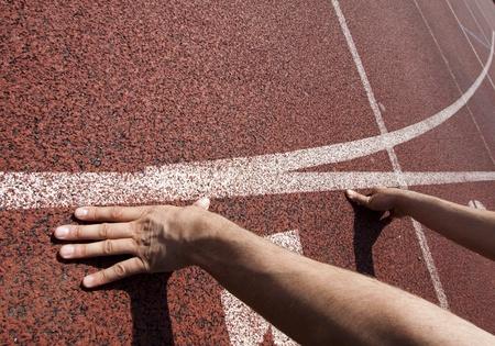 Läufer beim Start Standard-Bild - 9458214