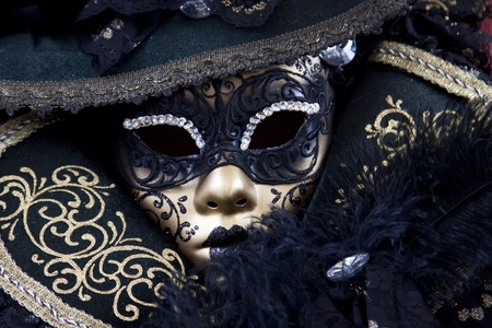 jester: Beautiful carnival mask from venice Italy