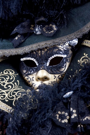 carnivale: Beautiful carnival mask from venice Italy