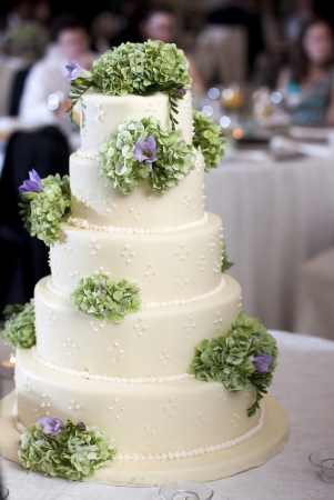 layer cake: Wedding cake