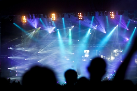 Stage lights  Foto de archivo
