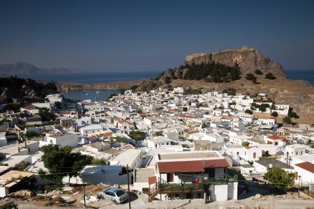 lindos: ancient Greek town Lindos