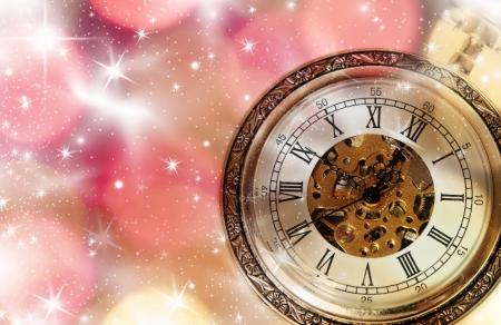 year 's: New Year s at midnight Stock Photo
