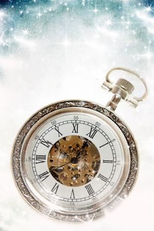 New Year s at midnight photo