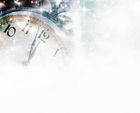 nouvel an: Nouvel An à minuit Banque d'images