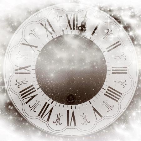 past midnight: New Year s at midnight Stock Photo