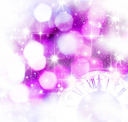 New Year s at midnight Foto de archivo