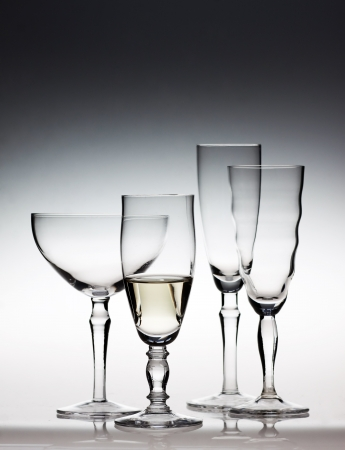Champagne glasses Stock Photo - 16782872