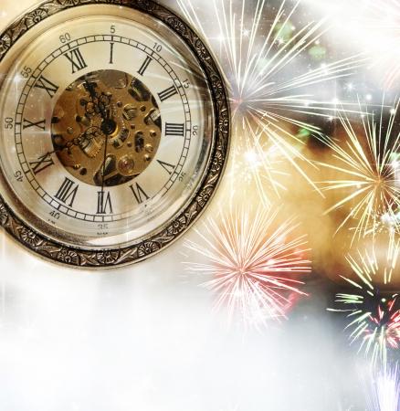 New Year s at midnight Reklamní fotografie