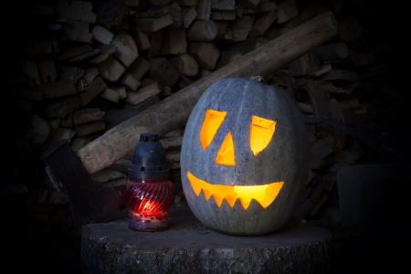 jackolantern: Jack-o-lantern Stock Photo