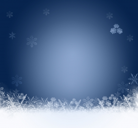 winter holiday background: abstract Christmas background with white snowflakes