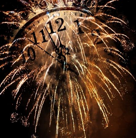 Neujahr Standard-Bild - 24588646