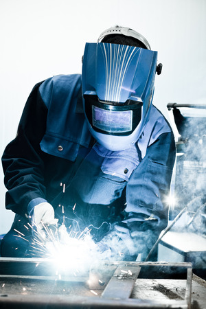 Welding work photo