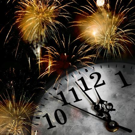 sylwester: Nowy Rok Zdjęcie Seryjne