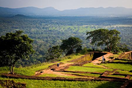 lions rock: Sigiriya Lion Rock Fortress in Sri Lanka