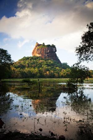 sigiriya: Sigiriya Lion Rock Fortress in Sri Lanka