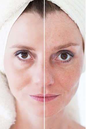 antiaging: Beauty concept - skin care, anti-aging procedures, rejuvenation, lifting, tightening of facial skin