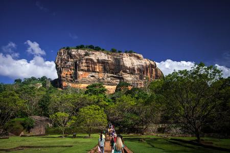 Sigiriya Lion Rock Fortress in Sri Lanka photo